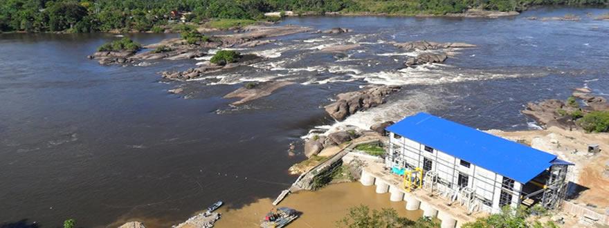 Micro central hidroeléctrica Mitú